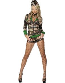 Costume da ragazza da combattimento Fever