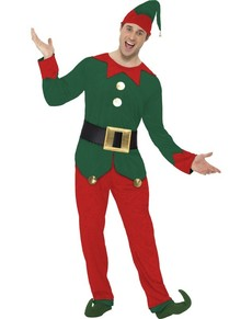 Costume da elfo divertente da uomo