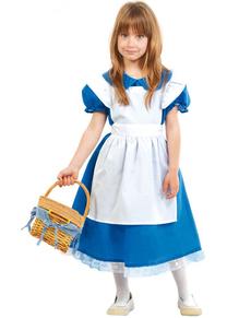 Costume da Alice nel paese delle meraviglie per bambina