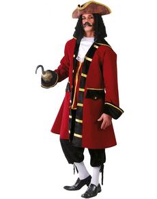 Costume da capitano dei pirati