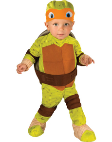 Costume Michelangelo Tartarughe Ninja bebè