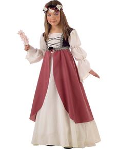 Costume da Clarissa medievale bambina