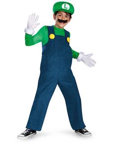 Costume Luigi prestige da bambino