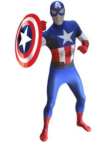Costume Captain America Morphsuit