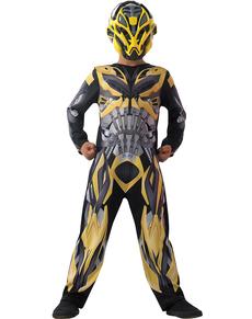 Costume da Bumblebee Movie Transformers 4 L'Era dell'Estinzione classico da bambino