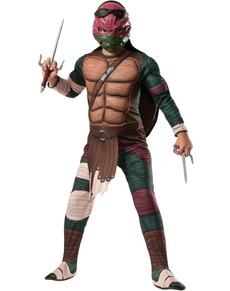 Costume da Raffaello muscoloso Tartarughe Ninja Movie da bambino