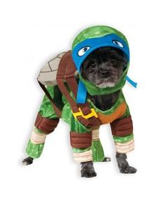 Costume da Leonardo Tartarughe Ninja per cani