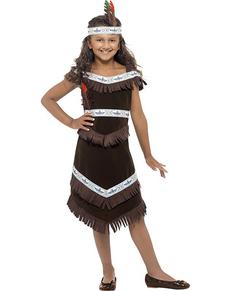 Costume da indiana apache per bambina