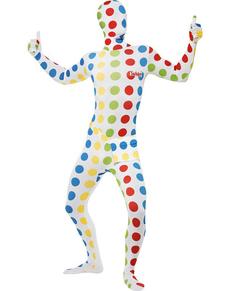 Costume da Twister seconda pelle da adulto