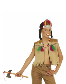 Kit costume da indiana per bambina