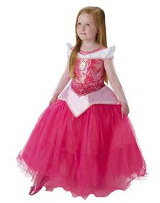 Costume Aurora Bella Addormentata prestige bambina