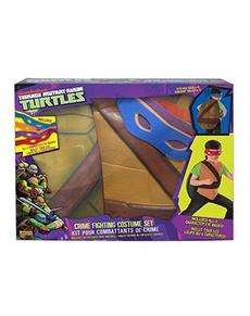Kit costume Tartarughe Ninja muscoloso bambino con confezione