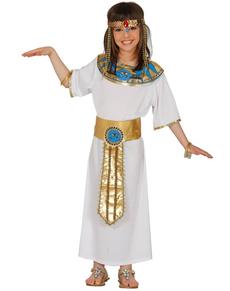 Costume da egiziana millenaria da bambina