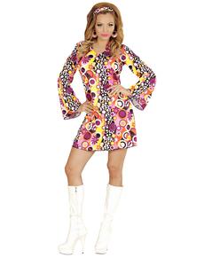 Costume da ragazza Disco da donna