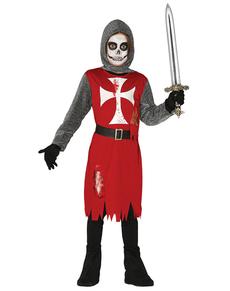 Costume da cavaliere delle tenebre per bambino
