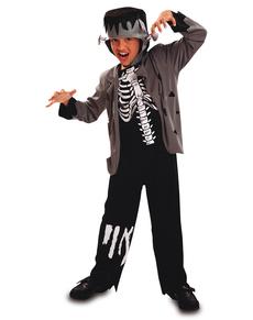 Costume da scheletro Franky per bambino