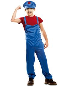 Costume da idraulico salvatutti per bambino