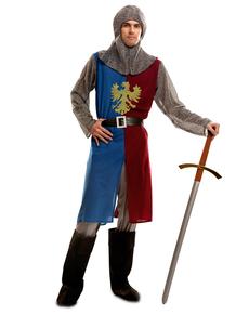 Costume da principe del medioevo per uomo