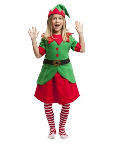 Costume da elfa aiutante bambina