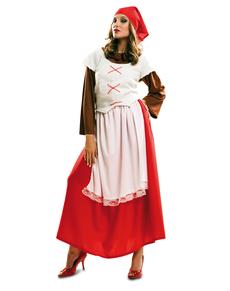 Costume da pastorella del Presepe per donna