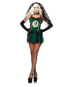 Costume da fidanzata di Frankenstein sexy per donna