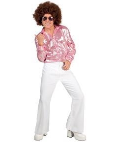 Pantaloni disco bianchi per uomo