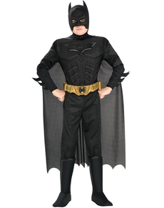 Costume Batman TDK Rises Deluxe da bambino