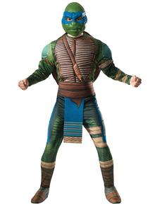 Costume da Leonardo Tartarughe Ninja 2 deluxe per uomo