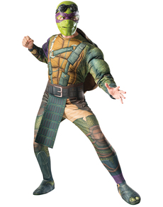 Costume da Donatello Tartarughe Ninja 2 deluxe per uomo