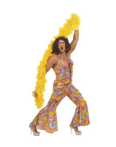 Costume da disco girl per uomo