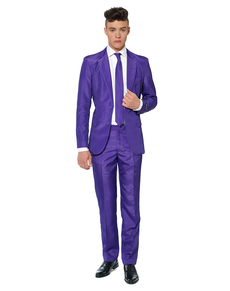 Abito Solid Purple Suitmeister