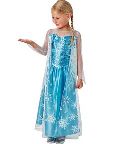 Costume da Elsa Frozen Regina delle nevi per bambina