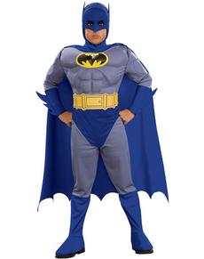 Costume Batman the Brave and the Bold imbottito da bambino